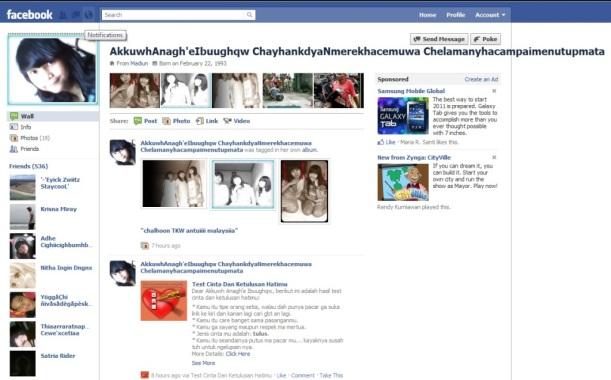 gimana cara baca nama FB nya tuh?