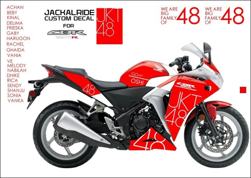 CBR250R JKT48