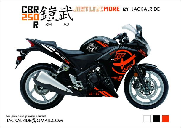 CBR250R Just Live More!!