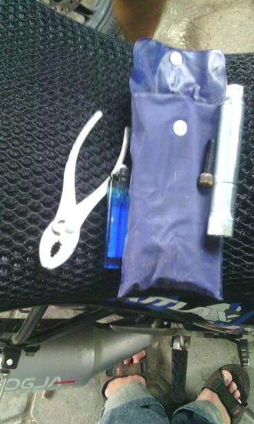 peralatan yang dipakai