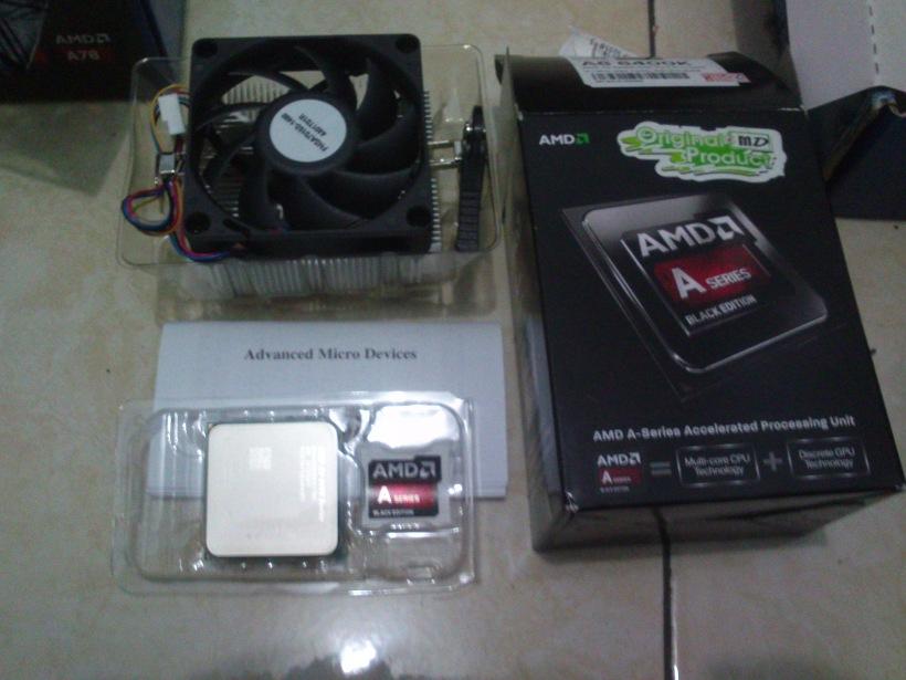 AMD APU A6-6400K!
