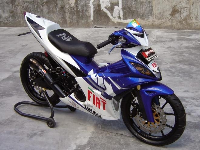 Gambar Modifikasi Motor MX 11