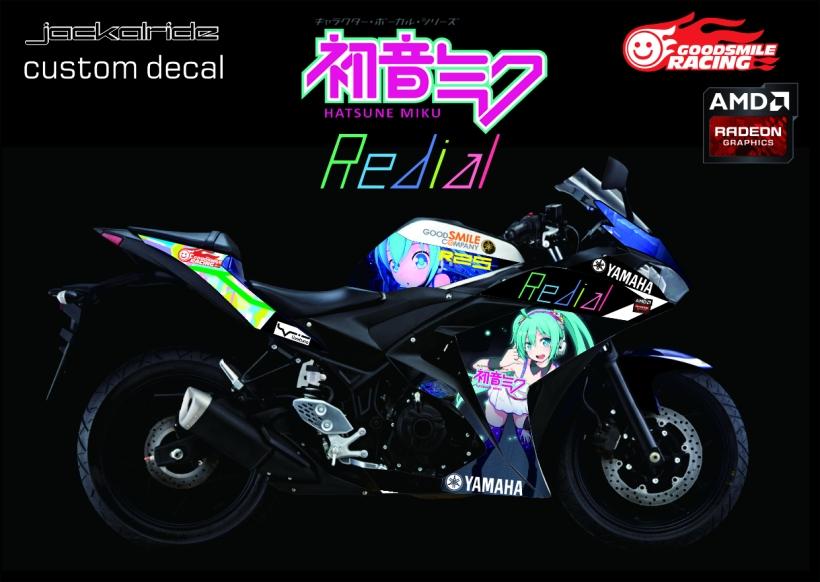 r25 decal goodsmilecompany