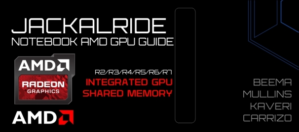 Jackalride Radeon R integrated guide