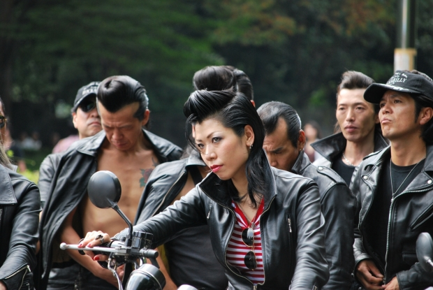 Mercenary Garage Design Dublin Ireland Custom Motorcycle  Workshop Sukeban Boss Girl Bosozoku Rockers Japan