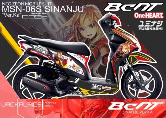 Honda Beat 2015 Sinanju